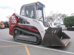 Takeuchi TL 130 Skid Steer dry hire. Park Ridge Logan Area Preview