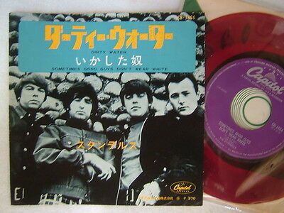 RED VINYL / THE STANDELLS DIRTY WATER / 7INCH