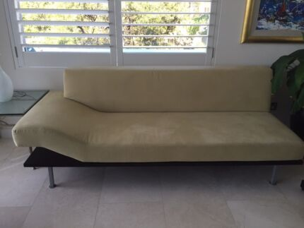 "Two-Piece Modern Suede ""Design Warehouse"" Sofa Mosman Mosman Area Preview"