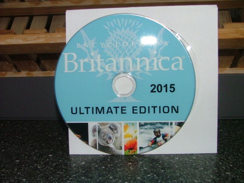 Encyclopedia Britannica 2015 Ultimate Edition DVD