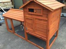 Double storey Chicken Rabbit Hutch Wooden House with tray Bayswater Knox Area Preview