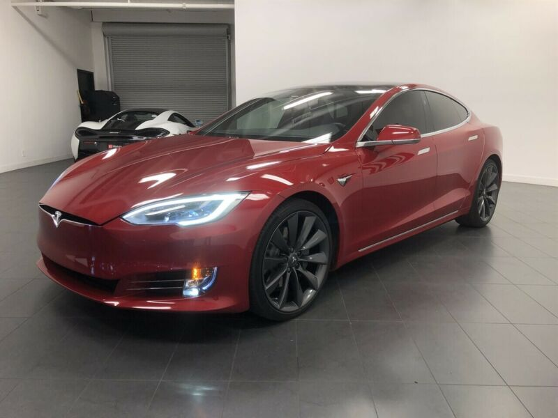 Image 8 Coche Americano usado Tesla Model S 2017