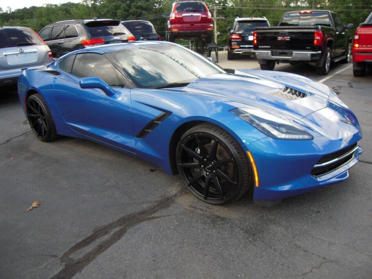 2014 Blue Chevrolet Corvette  1LT | C7 Corvette Photo 7