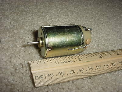 Small Dc Electric Motor 12 Vdc 2450 Rpm Heavy Duty M54