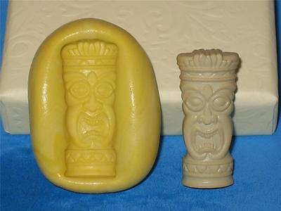 Tiki Pedestal Silicone Push Mold A392 For Craft Chocolate Resin Clay Candy
