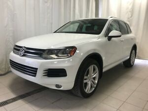 2013 Volkswagen Touareg Highline TDI 3.0L TDI + GPS + LEATHER SE