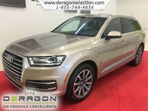 2018 Audi Q7 PROGRESSIV + 7 PLACES + NAV + CAMERA PROGRESSIV +