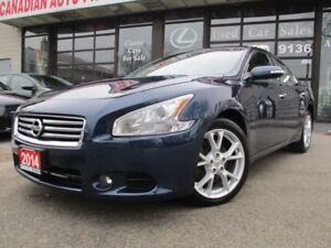 2014 Nissan Maxima 3.5 SV-LTHER-MOONROOF-BLUETOOTH=ALLOY