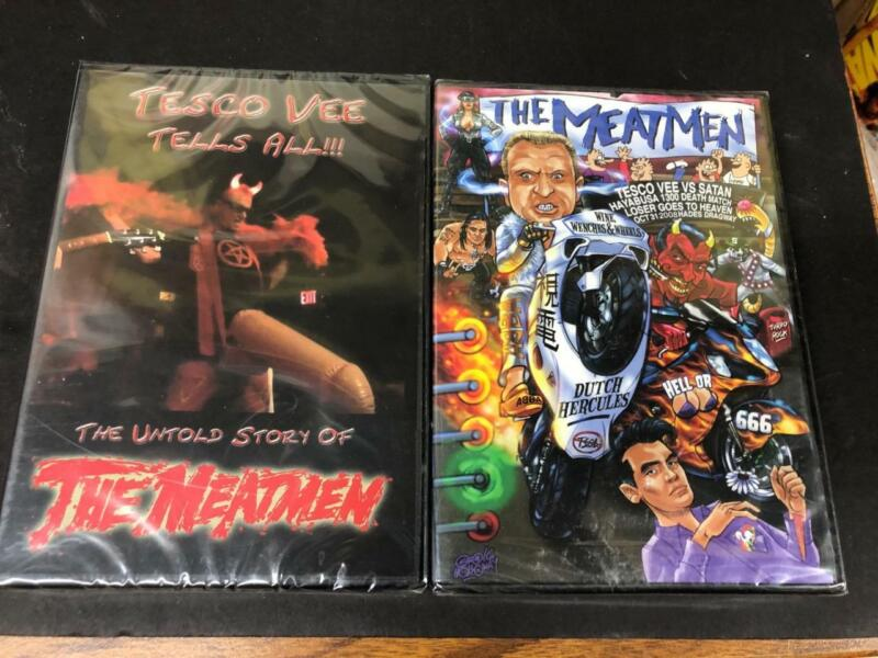 THE MEATMEN DVD BUNDLE 6 HOURS OF MEAT!  LIVE CLIPS TESCO VEE