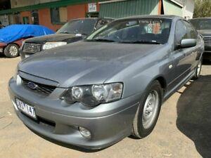 2003 Ford Falcon BA XR6 Silver 4 Speed Auto Seq Sportshift Sedan Werribee Wyndham Area Preview