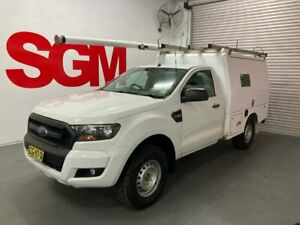 Ford Ranger 2016 PX MkII XL Single Cab Sports Auto 4x4 - Fitted with XL service body (ex-Telstra fit Seven Hills Blacktown Area Preview
