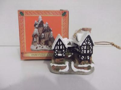 David Winter Häuschen Ornamente Tudor Manor House Weihnachten Nib 1 5 8 Hoch China Manor House