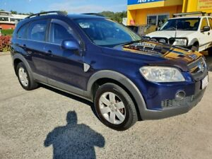 2009 Holden Captiva CG MY10 LX (4x4) Blue 5 Speed Automatic Wagon Marcoola Maroochydore Area Preview