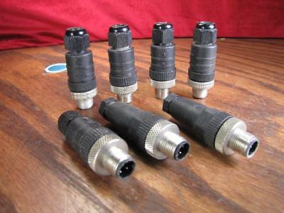Male 4 Pin Mini Connector 7 Lot
