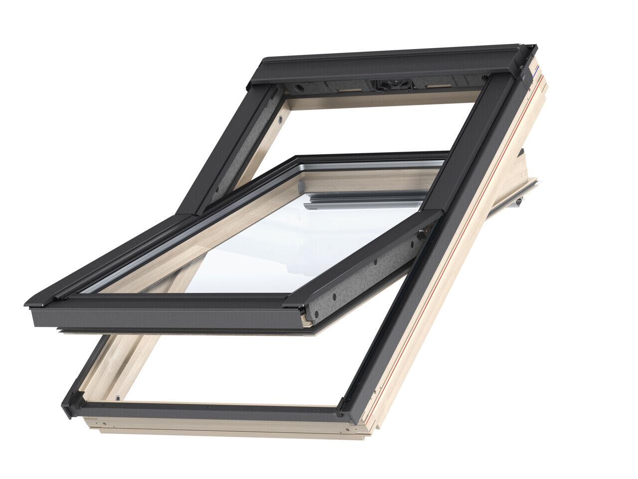 VELUX GZL Schwingfenster, Dachfenster aus Holz inkl. Eindeckrahmen