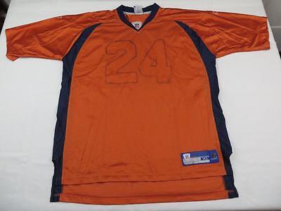 Mens Tiny T Denver Broncos NFL Football Jersey Size XL Custom Shirt Orange - Custom Denver Broncos Jersey