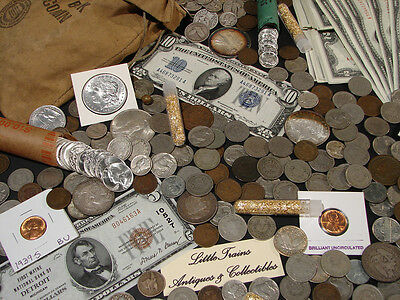 ☆ESTATE SALE OLD US COINS LOT  ☆ GOLD SILVER BULLION☆ CURRENCY☆ 50 YEARS OLD+