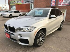 2015 BMW X5 xDrive35d/M-SPORT/DIESEL/CERTIFIED/WARRANTY INCLUD
