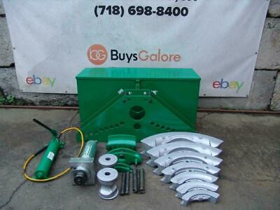 Greenlee 885 Hydraulic Bender 1 14 To 5 Inch Rigid Pipe Works Great 2 829
