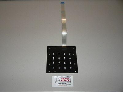 Fastcorp F631 Ice Cream Vending Machine Keypad Membrane Free Ship