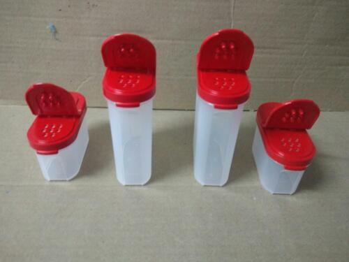 Tupperware Modular Spice shaker (set of 4) 250 ml, 125 ml Salt & Pepper Shaker