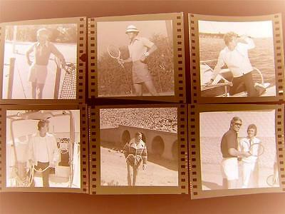 510W MENS FASHION MODELS CALIFORNIA 1970s Harry Langdon 6 Negative LOT w/rights
