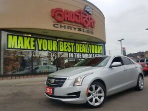 2015 Cadillac ATS Standard AWD PWR ROOF LEATER H-TED SEATS PUSH