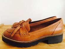 WITTNER Leather Flat Shoes - Tan - EXCELLENT CONDITION Maroubra Eastern Suburbs Preview
