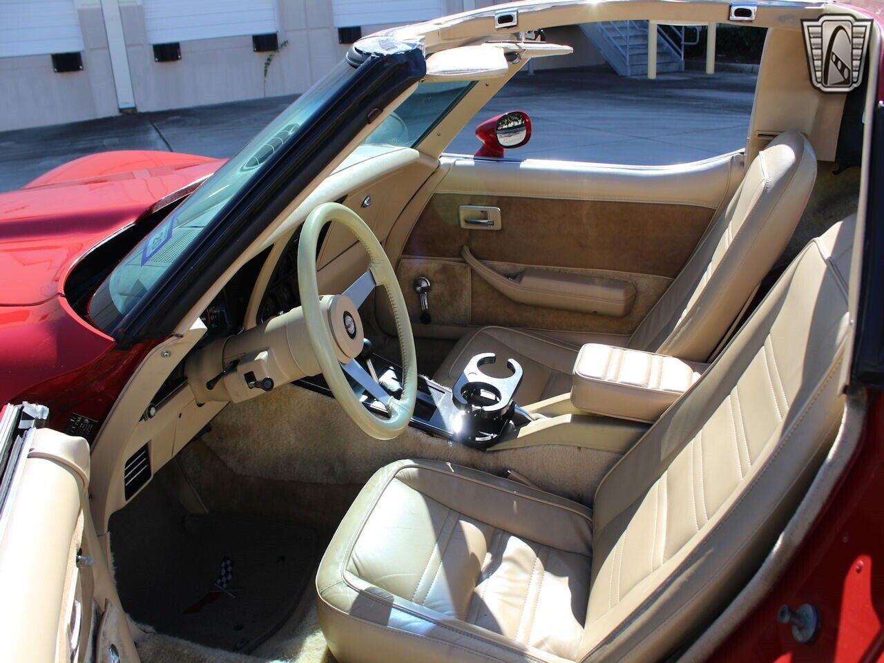 1978 Red Chevrolet Corvette   | C3 Corvette Photo 8