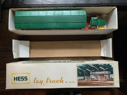 1975 Hess model Truck w/barrels. Mint condition. In original box.