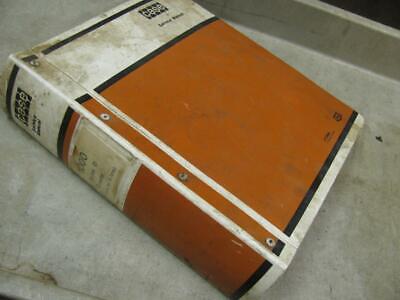 Case 1000d Crawler Tractor Service Manual 9-72142