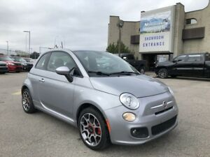 2015 Fiat 500 Sport Leather Seats/Auto/Cruise
