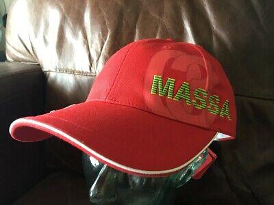 PUMA BRAZIL FERRARI MASSA 03 BASEBALL CAP HAT ROSSO CORSA FORMULA 1 MOTORRACING