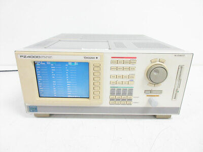 Yokogawa Pz4000 Power Analyzer Dc To 2 Mhz 4x 253751 Elements 1000v 253710