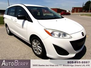 2013 Mazda MAZDA5 GS ***CERTIFIED ACCIDENT FREE*** $7,999