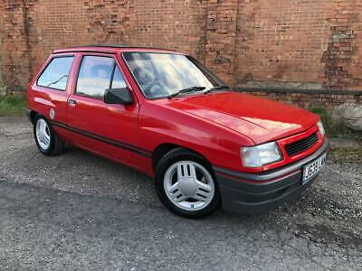 1991 Vauxhall NOVA 1.2i, Mk2 New import 0 former keepers and only 78.000 miles