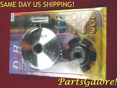 DLH Racing Variator Kit GY6 125 125cc 150 150cc Honda Chinese Euro Scooters E164
