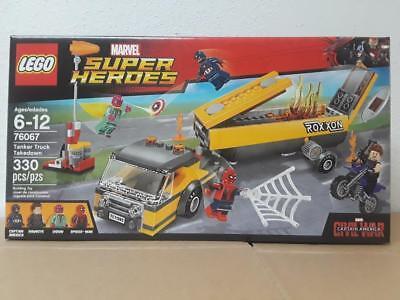Lego Marvel Super Heroes Set #76067 Tanker Truck Takedown NIB VHTF Retired