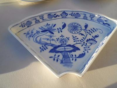 Villeroy and Boch Lazy Susan Blue Onion Replacement Pieces 3 Available