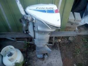 Evinrude 9.5 Outboard Motor Elizabeth Downs Playford Area Preview