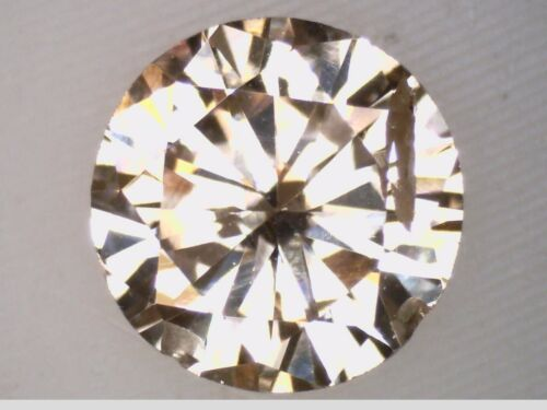 .28ct I1/Fancy Light Brown Round Cut Natural Loose Diamond #100570