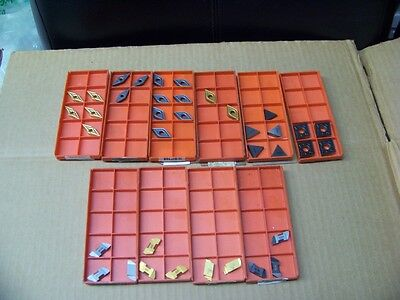 Lot Of 38 Sandvik Coromant Asorted Inserts All New