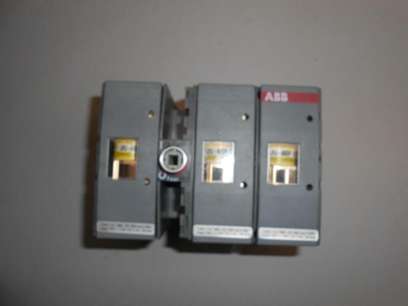 ABB OS 60J12 Disconnect Switch 600VAC 60A with Fuses