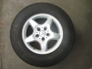 Mercedes ML 16x8 alloy wheel & tyre for W163 series (ML270/320) Palm Beach Pittwater Area Preview