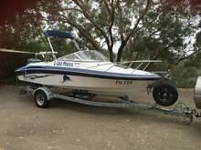 Miami C550 Cudy Cabin Fibreglass fishing boat, Yamaha 140HP Wattle Glen Nillumbik Area Preview