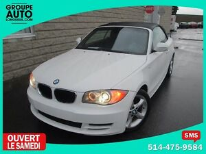 2011 BMW 1 Series 128i*AUTO*CONVERTIBLE*BLANCHE*