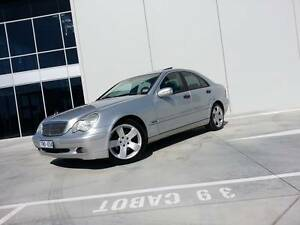 02 Mercedes-Benz C200 Supercharged - Inc RWC, Rego & Warranty Footscray Maribyrnong Area Preview
