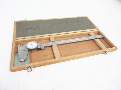 Mitutoyo 505-645-50 12 Dial Caliper 0.001 Graduation D12t