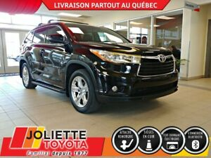 2016 Toyota Highlander Limited AWD  TOIT PANORAMIQUE, GPS, INT C