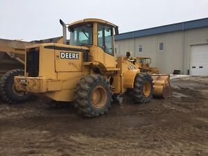 Deere 544H wheel loader